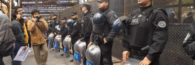 Venezuelans protest in Buenos Aires